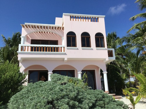 Hacienda 5 Steps From Beach. Brand new Construction