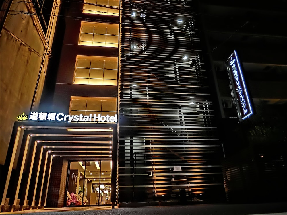 Front of Property - Evening/Night, Doutonbori Crystal Hotel