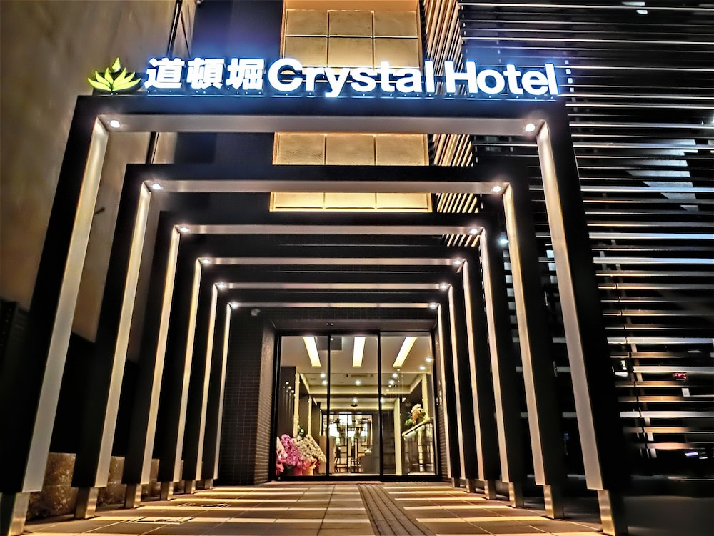 Property Entrance, Doutonbori Crystal Hotel