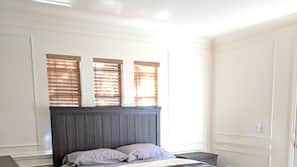 4 多间卧室、熨斗/熨衣板、WiFi、床单