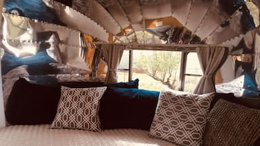 SILVER FOX ~ Airstream in Apple-Orchard ~15 minutes from Downtown Durango