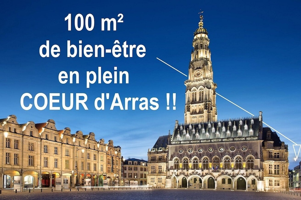 Exterior, Entire Apartment 100 M 2 at the Foot of the Belfry of Arras - Hyper Center