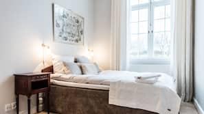 Premium-sengetøj, med varierende dekoration, med varierende møblement