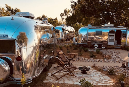 Silver Lining Airstream Trailer Camp