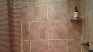 浴缸連淋浴設備、風筒、提供毛巾