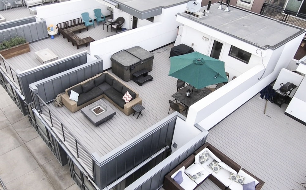 Floor plan, Luxe - Private Rooftop/hot Tub/fire Pit, Walk Downtown