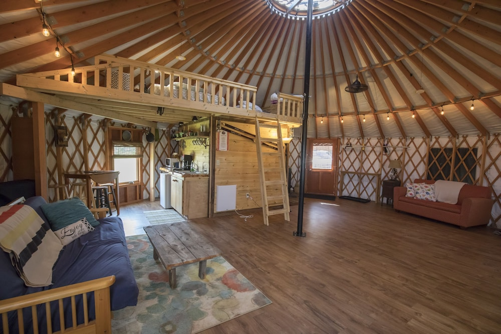 End Of The Road Yurt: 2019 Room Prices , Deals & Reviews