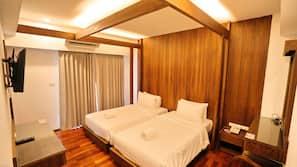 ผ้าม่านกันแสง, บริการ WiFi ฟรี, ผ้าปูที่นอน