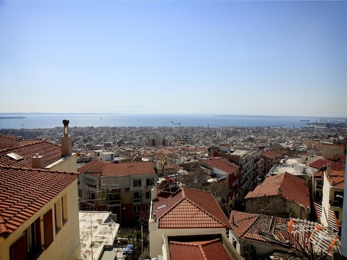 Best View In Thessaloniki Town