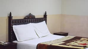 Premium bedding, pillow top beds, individually furnished, desk
