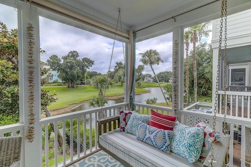 Isle OF Palms: Golfers Paradise on Wild Dunes Golf Course & Marina!