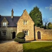 Gardeners Cottage in the Grounds of Newstead Abbey- Home of the Poet Lord Byron