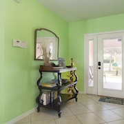 Beautiful Cocoa Beach Home, Own Heated Pool, Steps to the Beach