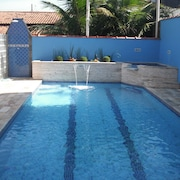 Beautiful House With Swimming Pool Itanhaém 30m Beach Cozy Place for Leisure and Rest