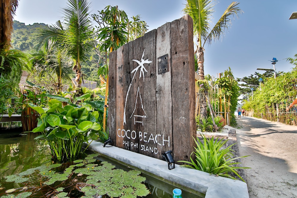 Property Entrance, Phi Phi CoCo Beach Resort