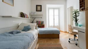 2 camere, culle/letti per bambini (gratuiti), Wi-Fi gratuito, lenzuola