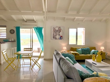 Apartment With 2 Bedrooms in Le Gosier, With Wonderful sea View, Furnished Terrace and Wifi - 300 m From the Beach