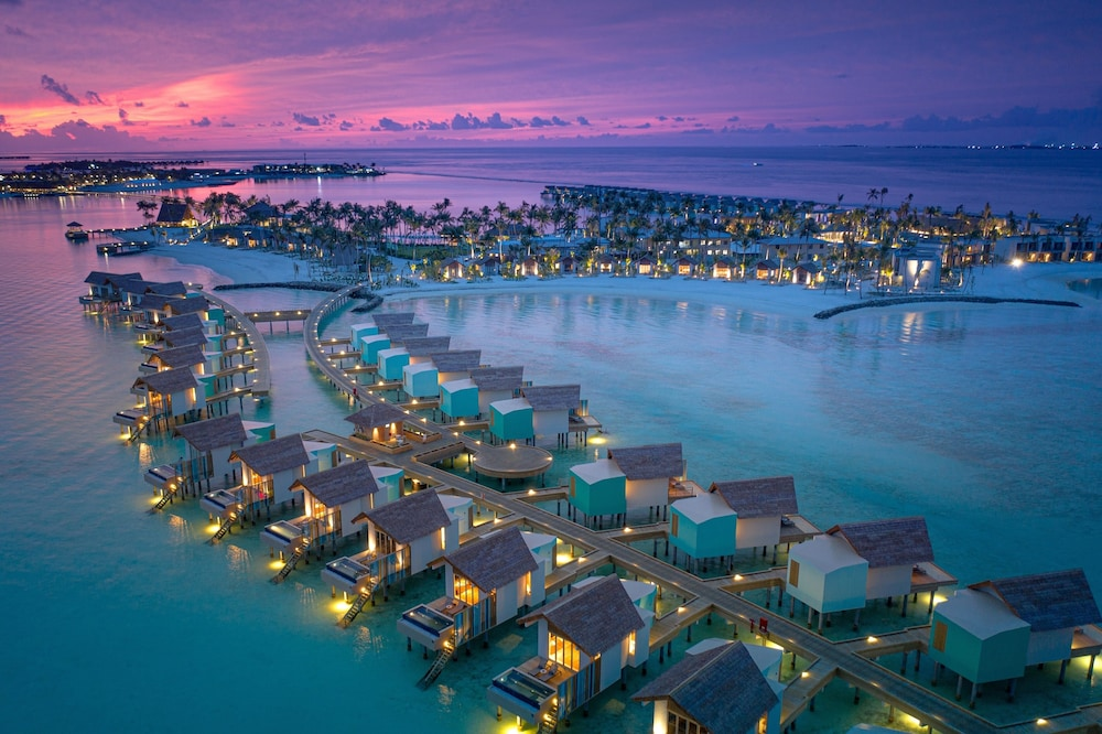 Aerial View, Hard Rock Hotel Maldives