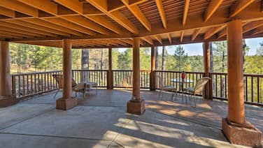 Secluded Flagstaff Apt on 4 Acres w/ Spacious Deck