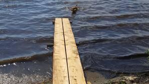 Plage privée à proximité, kayak, canoë, pêche sur place