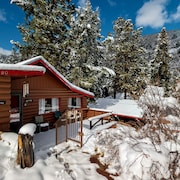 NEW Listing! Cozy Colorado Cabin With Large Deck, Free Wifi, Quiet Location