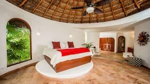 4 dormitorios, caja fuerte, decoración individual
