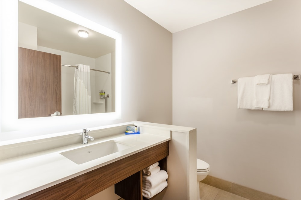 Bathroom, Holiday Inn Express & Suites Springfield North