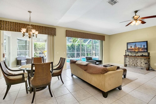Great Place to stay Executive Home in Gated Community w/ Private Heated Pool & Spa near Tampa