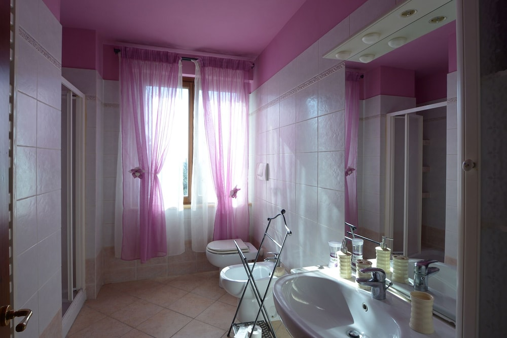 Bathroom, Villa GLI Olivi 10 Minutes From Panicale Special 2020! Perfect FOR 16 PX