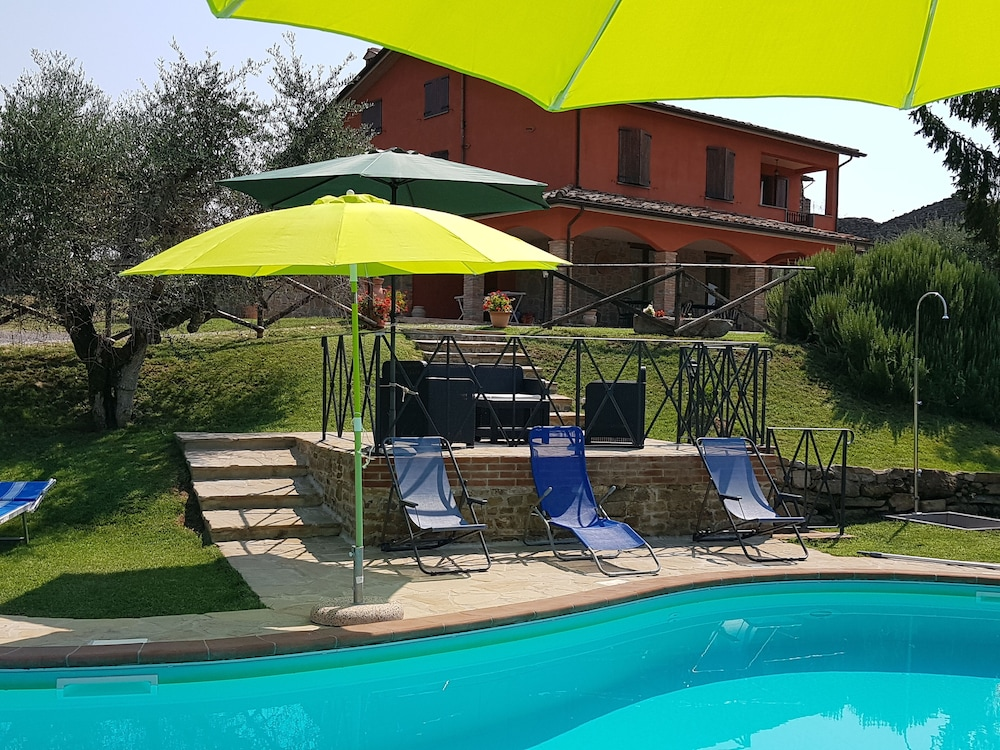 Pool, Villa GLI Olivi 10 Minutes From Panicale Special 2020! Perfect FOR 16 PX