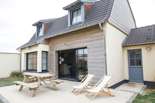 Audresselles 2: Bright and Modern Villa 20m From the Beach