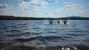 Privat strand, kajakpaddling, motorbåtsåkning och rodd/paddling