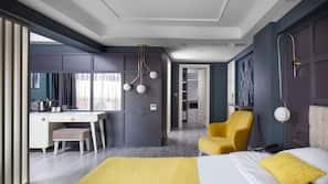 1 bedroom, minibar, in-room safe, laptop workspace