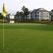 Luxury Fairway Condo Overlooking Two Fairways : Near Beaches -