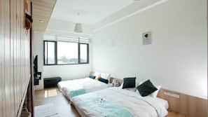 書桌、窗簾、隔音、免費 Wi-Fi