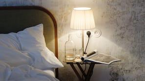 Una cassaforte in camera, tende oscuranti, Wi-Fi gratuito