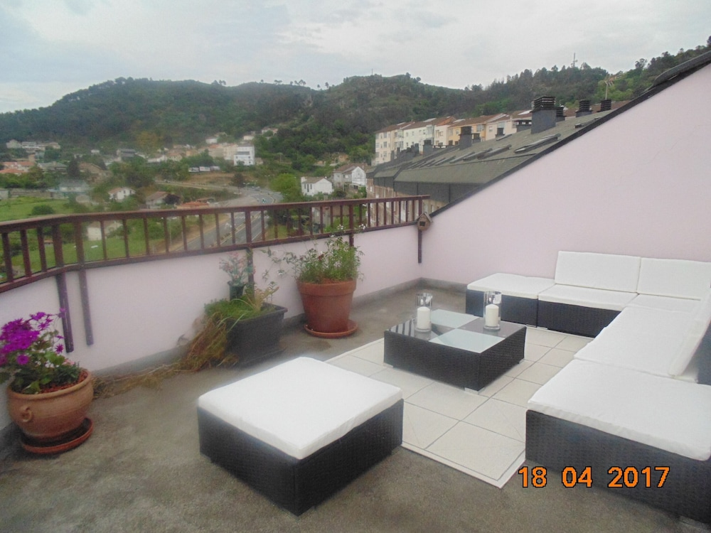 Balcony, Duplex of 180 m2 Large Windows and Stunning Views and Terrace 30 Meters