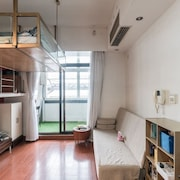 Warm Cozy Loft Studio Near Hongqiao Airport