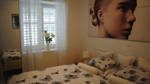 Soundproofing, free cribs/infant beds, free WiFi, bed sheets