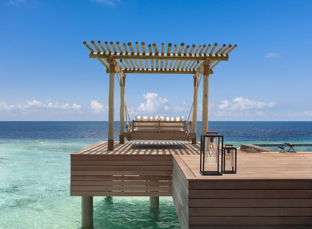 View from Room, Waldorf Astoria Maldives Ithaafushi