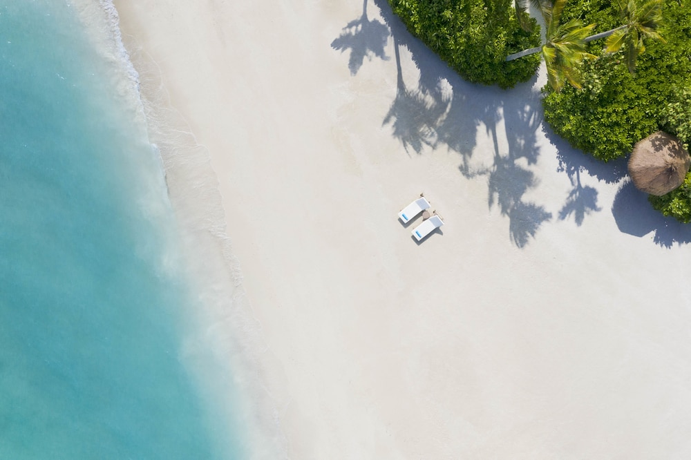 Beach, Waldorf Astoria Maldives Ithaafushi