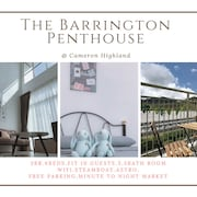 3BR The Barrington Penthouse @ Cameron ★ Natmarkedet
