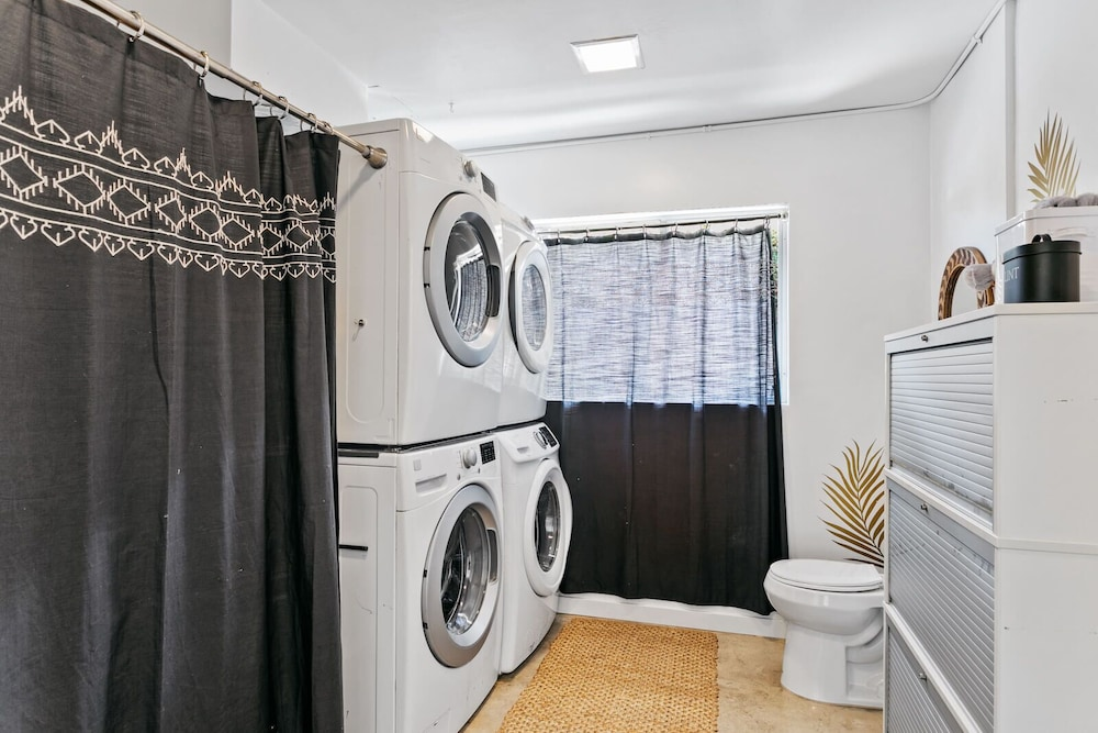 Laundry, The Marley. Why Rent a House? Have a Whole Hotel!