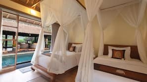 2 bedrooms, in-room safe, desk, free WiFi