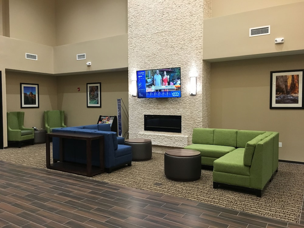 Lobby Sitting Area, Comfort Inn & Suites Zion Park Area