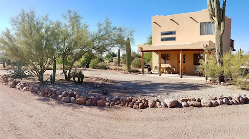 Western Casita @ Base of Superstition Mountain on 1.25 Acres