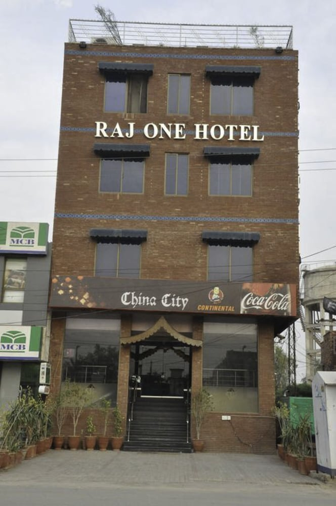 Front of Property, Raj One Hotel