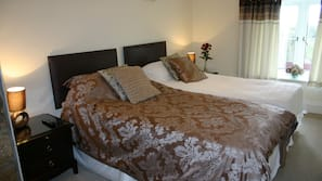 Premium bedding, pillow-top beds, individually decorated