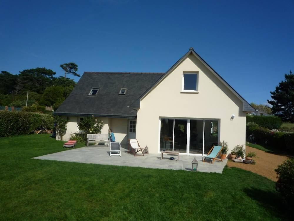 Beautiful House Of Holidays With Sight On Sea Any Loan Of The Beach