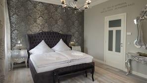 Individuell dekoriert, Schreibtisch, kostenloses WLAN, Bettwäsche
